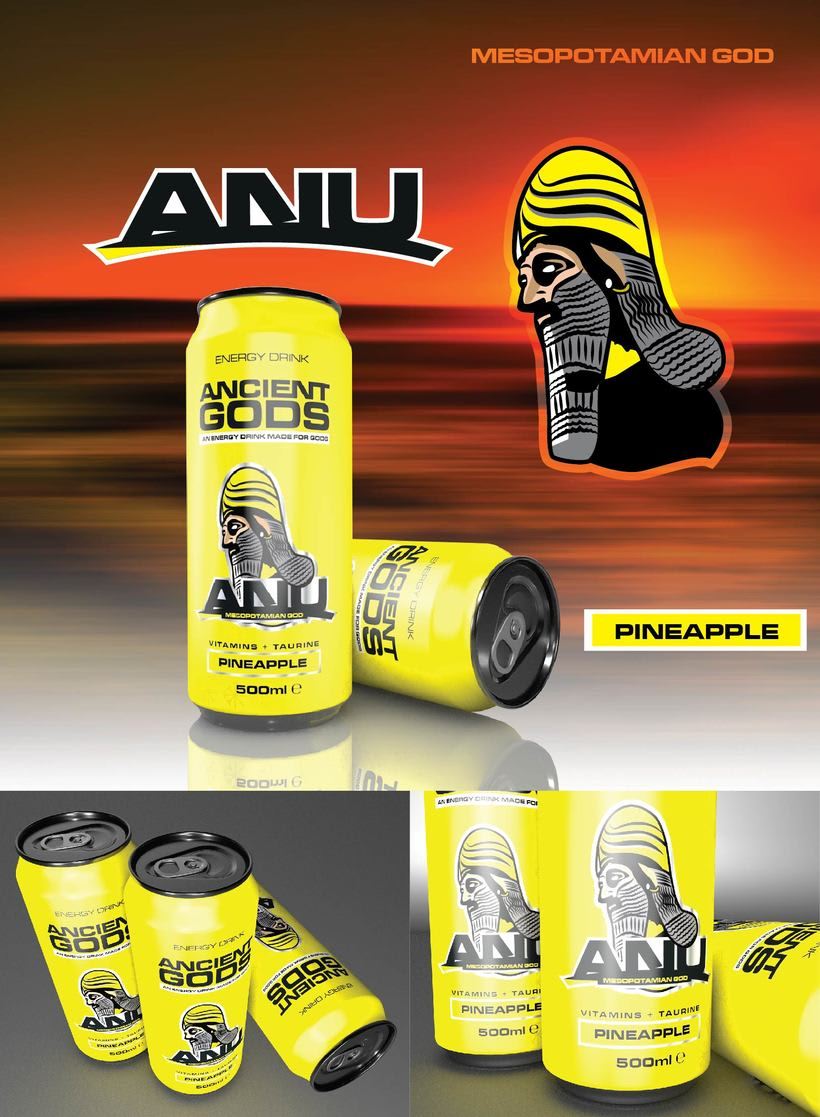 Ancient Gods Energy Drink 7