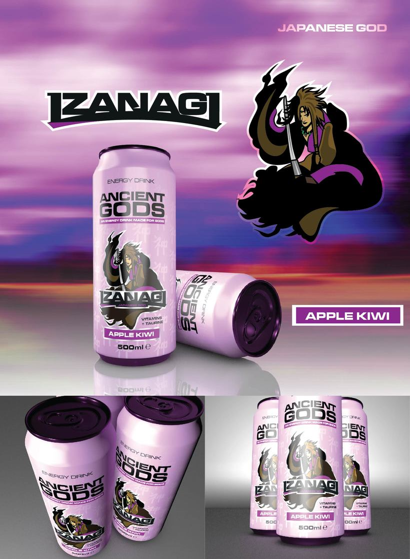 Ancient Gods Energy Drink 8