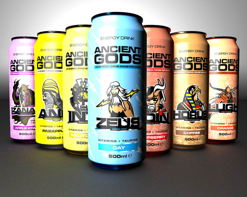Ancient Gods Energy Drink 10