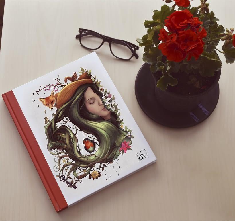 EL jardín secerto- Ilustración y fotografía -1