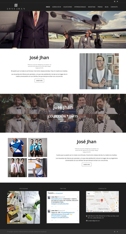 Website - Jose Jhan 0