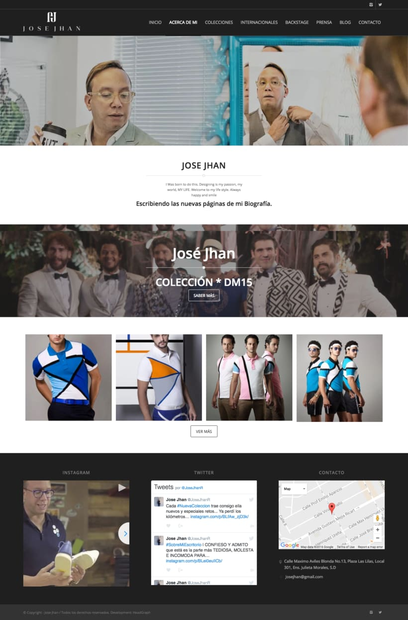 Website - Jose Jhan 1