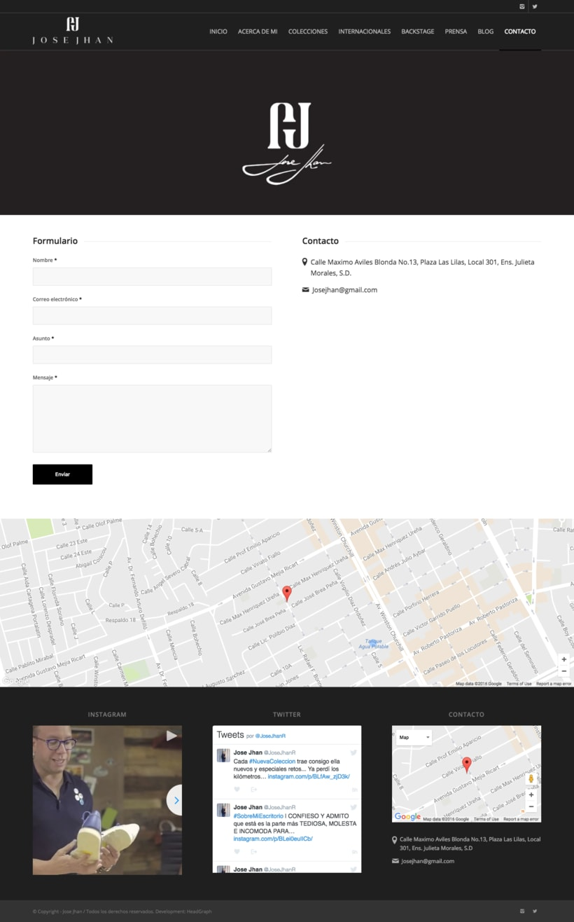 Website - Jose Jhan 5