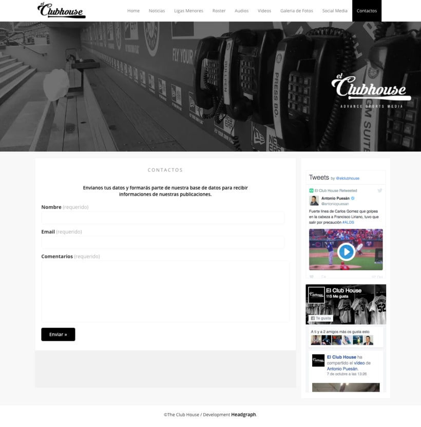 Website - El Club House 3