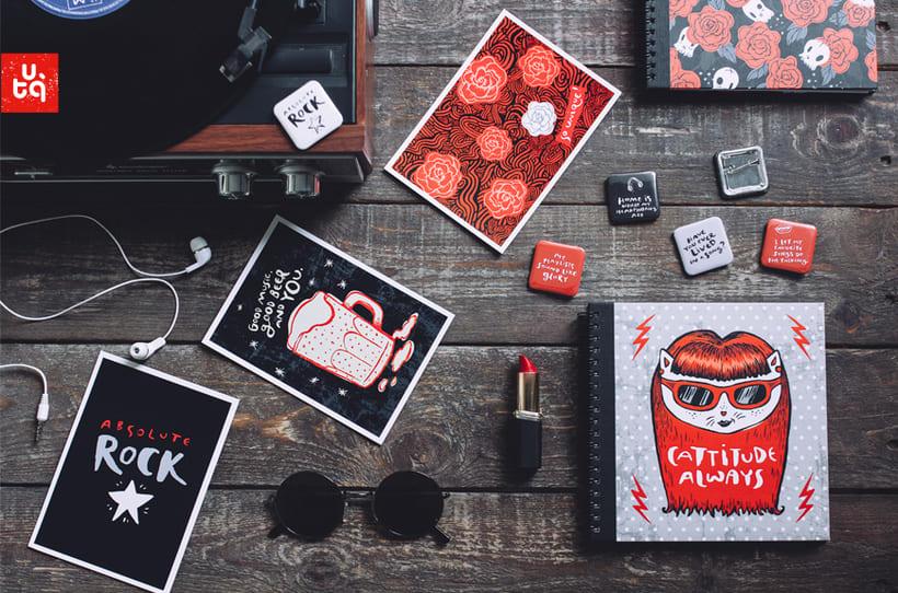 Diseño de papelería y regalos indie 7