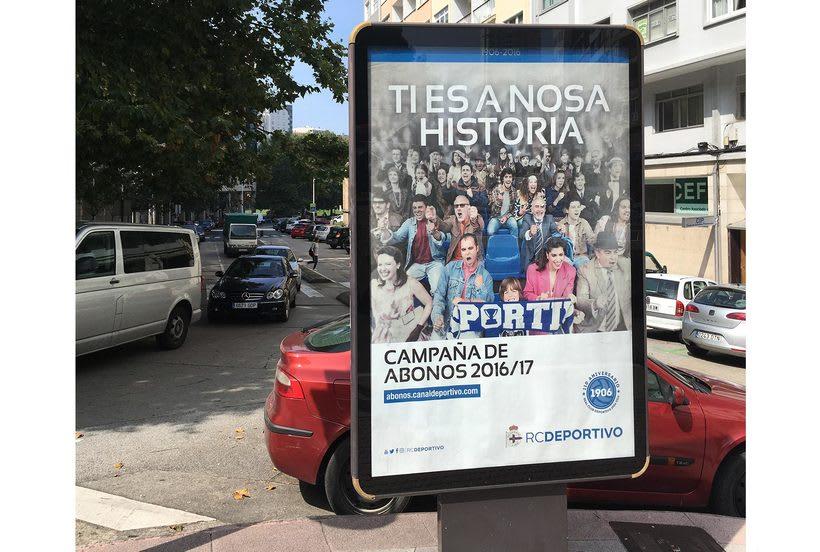Campaña nuevos abonos 16/17 RC Deportivo de La Coruña 1