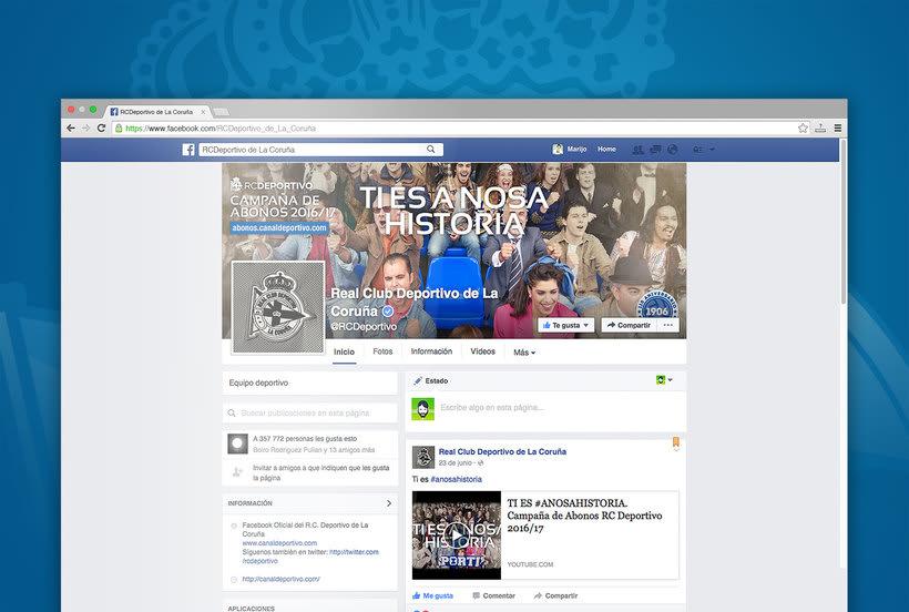 Campaña nuevos abonos 16/17 RC Deportivo de La Coruña 6