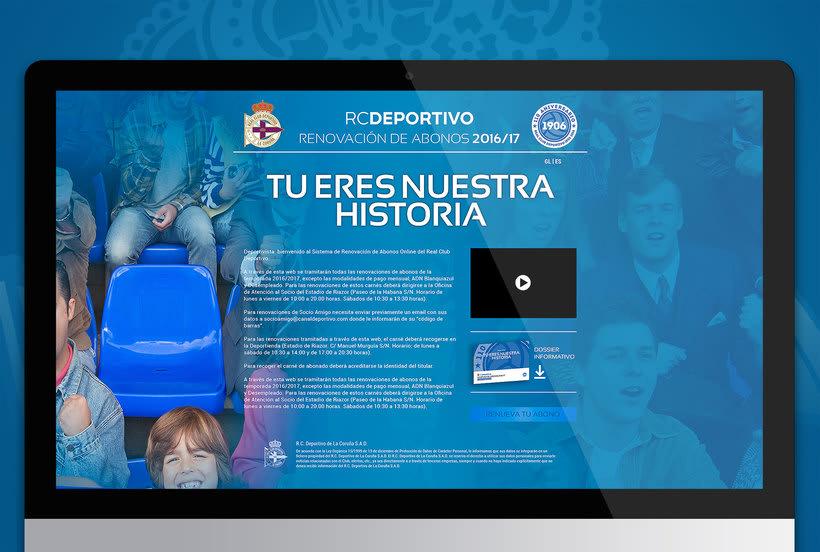 Campaña nuevos abonos 16/17 RC Deportivo de La Coruña 9