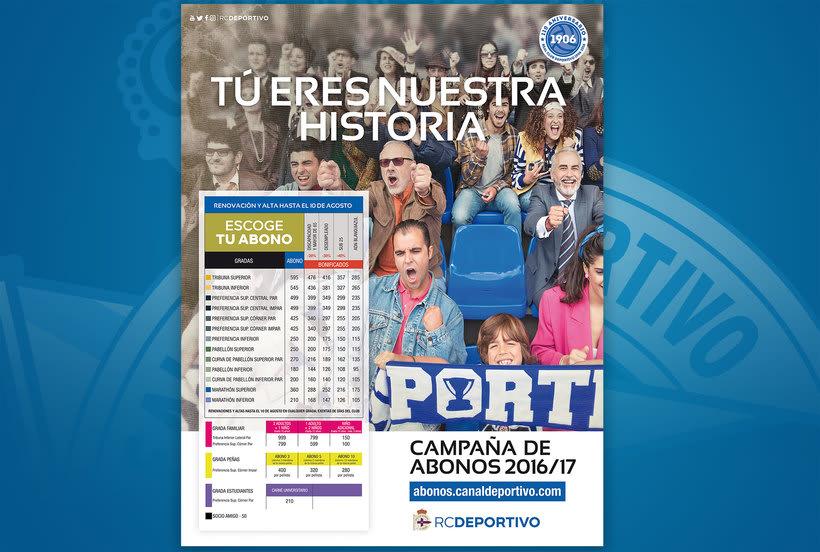 Campaña nuevos abonos 16/17 RC Deportivo de La Coruña 12