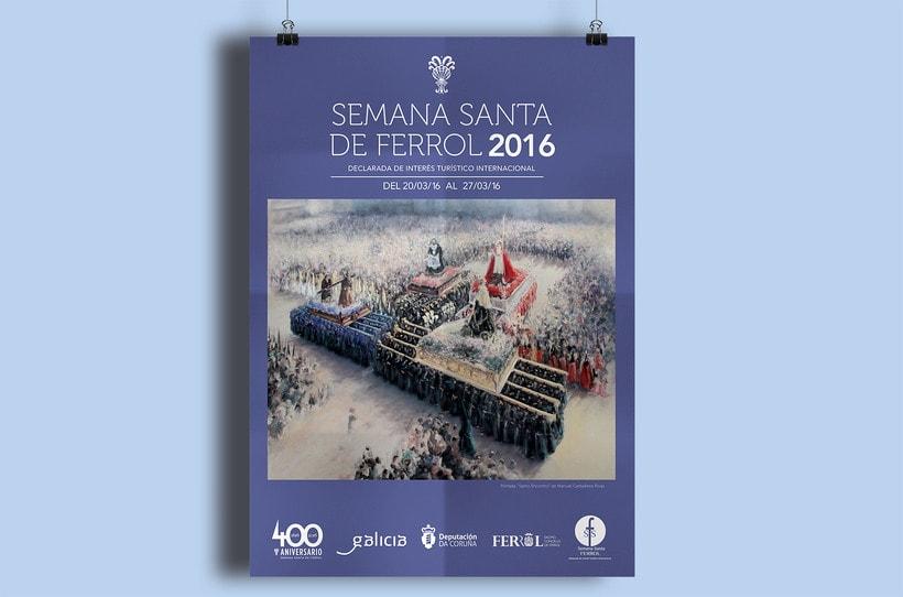 Identidad Semana Santa Ferrol 2016 1