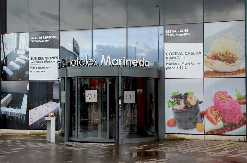 Rotulación Hotel Carrís Marineda 3