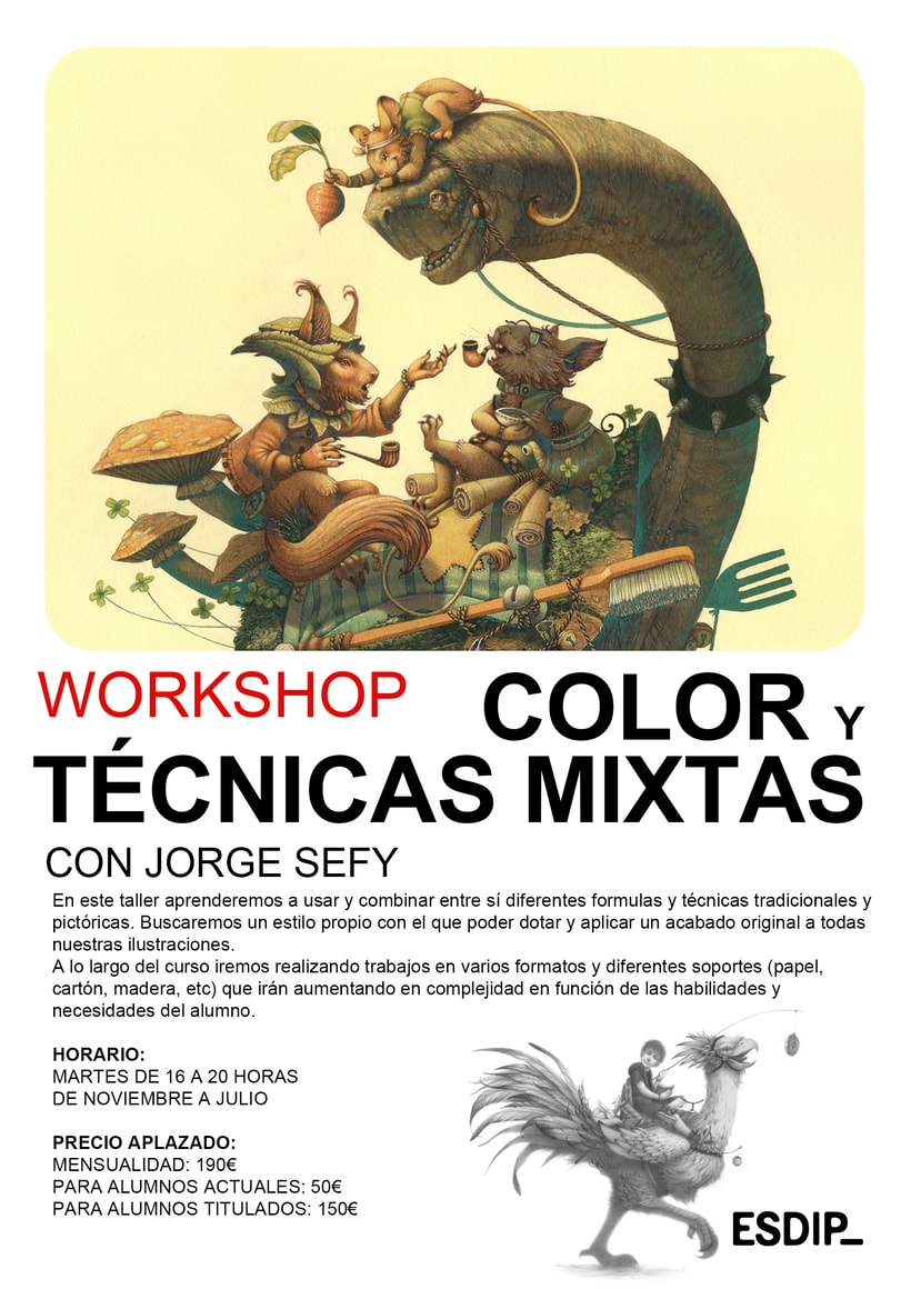 Workshop de Color y Técnicas Mixtas 1