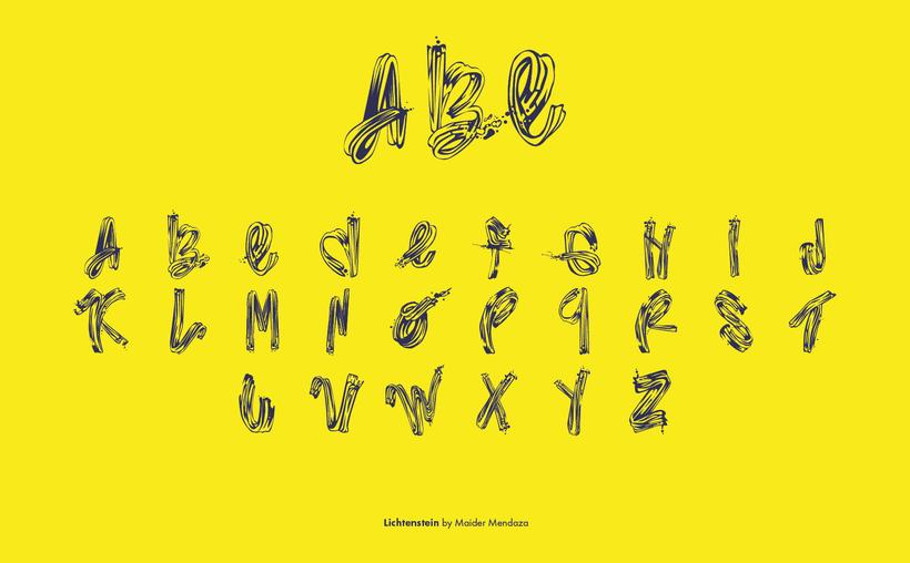 Typography · Lichtenstein 3