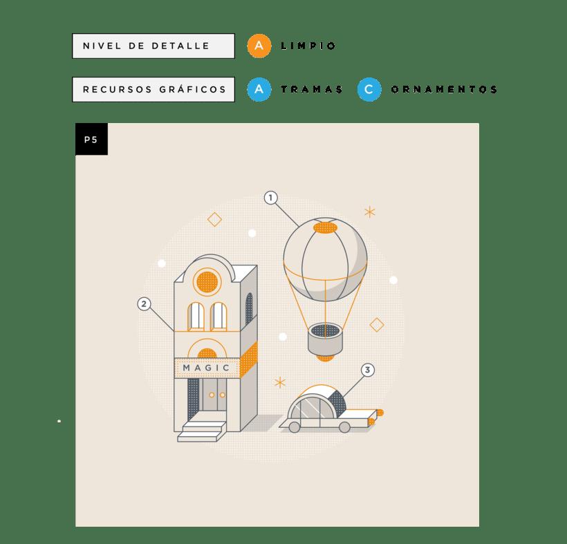 Mi Proyecto del curso: Ilustración corporativa: Guía de Estilo vectorial 6