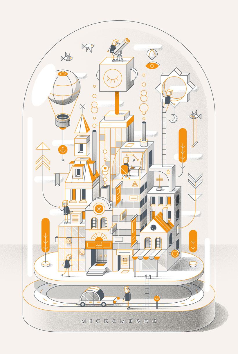 Mi Proyecto del curso: Ilustración corporativa: Guía de Estilo vectorial 10