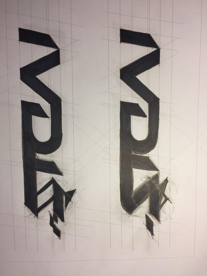 Diseño del logotipo de IVDIS (monograma a usar mas adelante: Dragón) 5