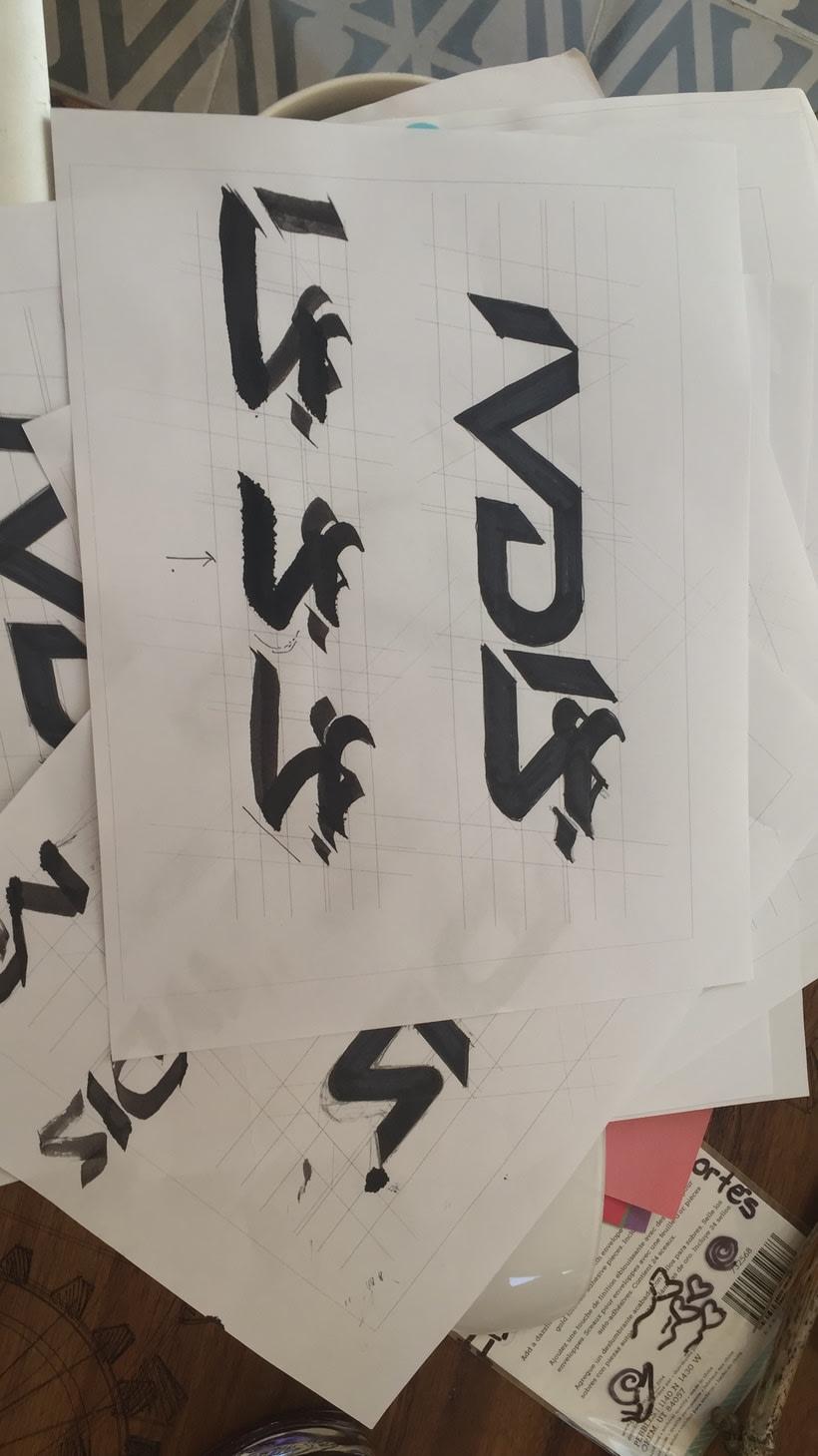 Diseño del logotipo de IVDIS (monograma a usar mas adelante: Dragón) 8