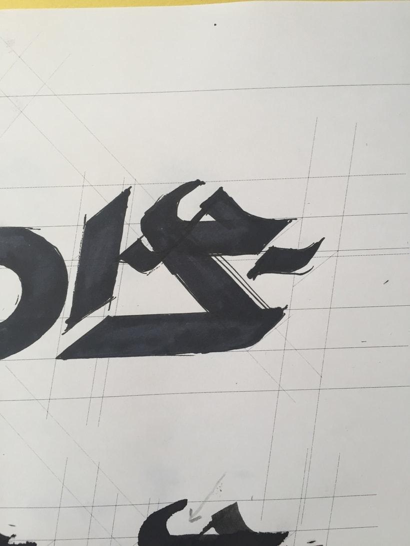 Diseño del logotipo de IVDIS (monograma a usar mas adelante: Dragón) 12
