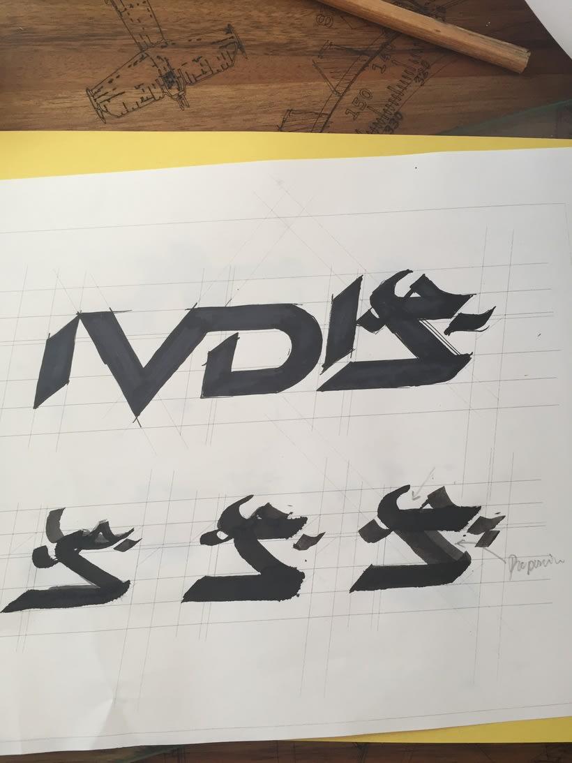 Diseño del logotipo de IVDIS (monograma a usar mas adelante: Dragón) 13