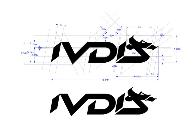 Logotipo y monograma IVDIS  3