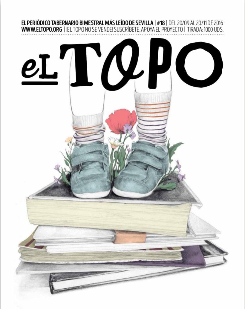 La Educación - Portada para El Topo #18 1