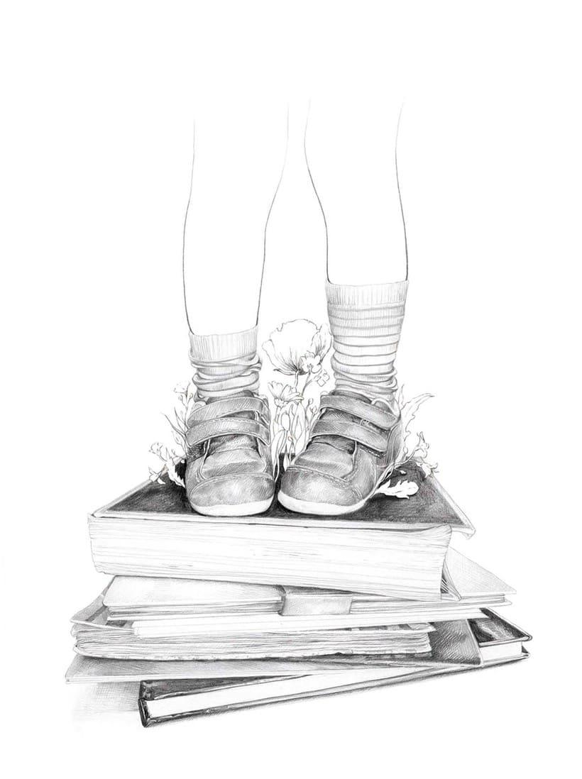 La Educación - Portada para El Topo #18 2