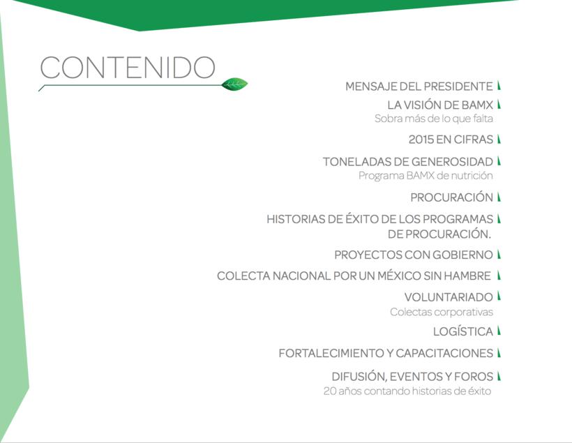 INFORME ANUAL BANCO DE ALIMENTOS DE MEXICO 2015 2