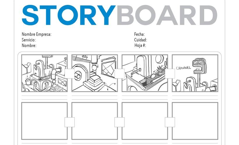 Mi Proyecto Channel 9 : Animación de cortinillas de televisión con Motion Graphics 0