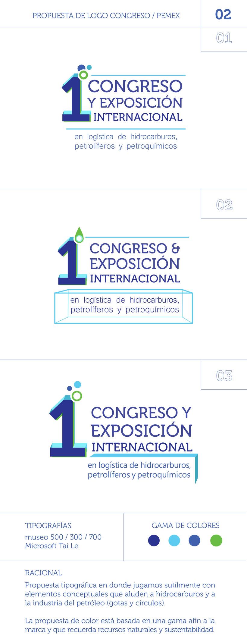 PRIMER CONGRESO Y EXPO INTERNACIONAL PEMEX 0