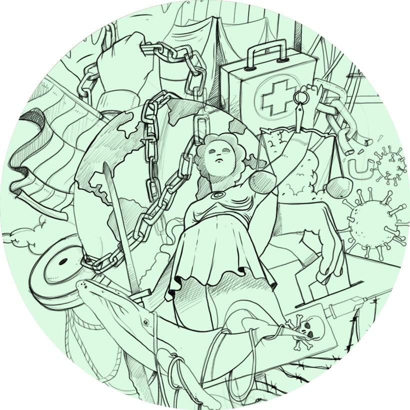 Mi Proyecto del curso: Técnicas de Ilustración y composición realista para prensa 3