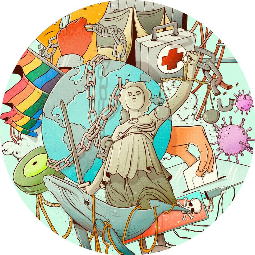 Mi Proyecto del curso: Técnicas de Ilustración y composición realista para prensa 11