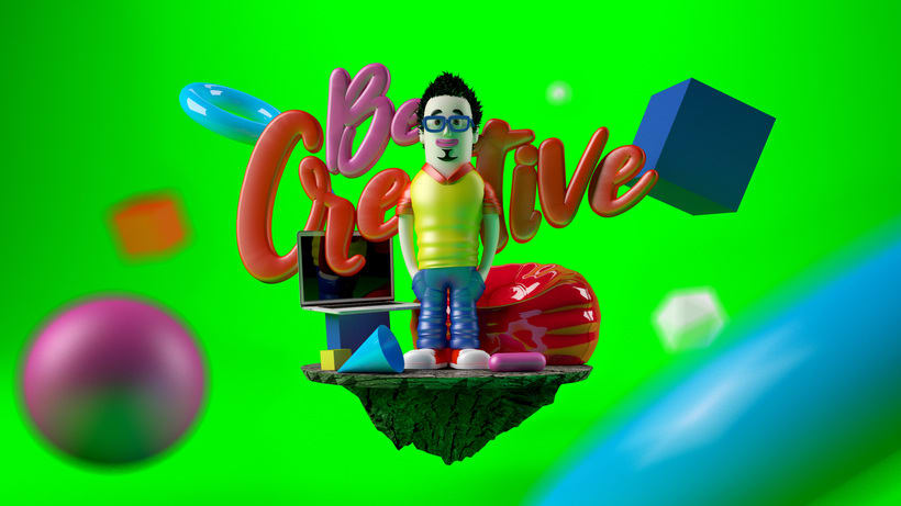 Be creative! 1