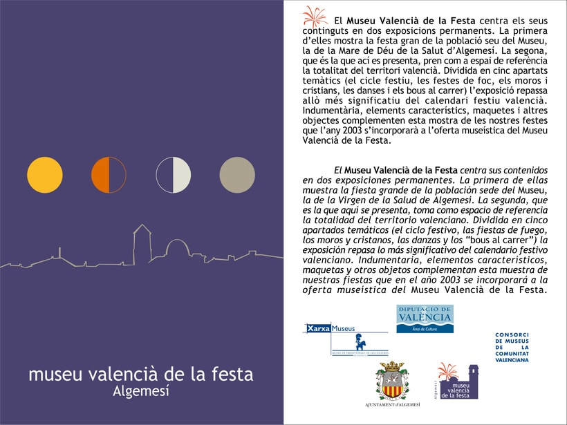 Identidad corporativa Museu Valencià de la Festa. 1