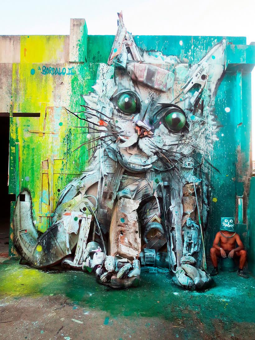 El arte urbano que remueve conciencias de Bordalo II 7