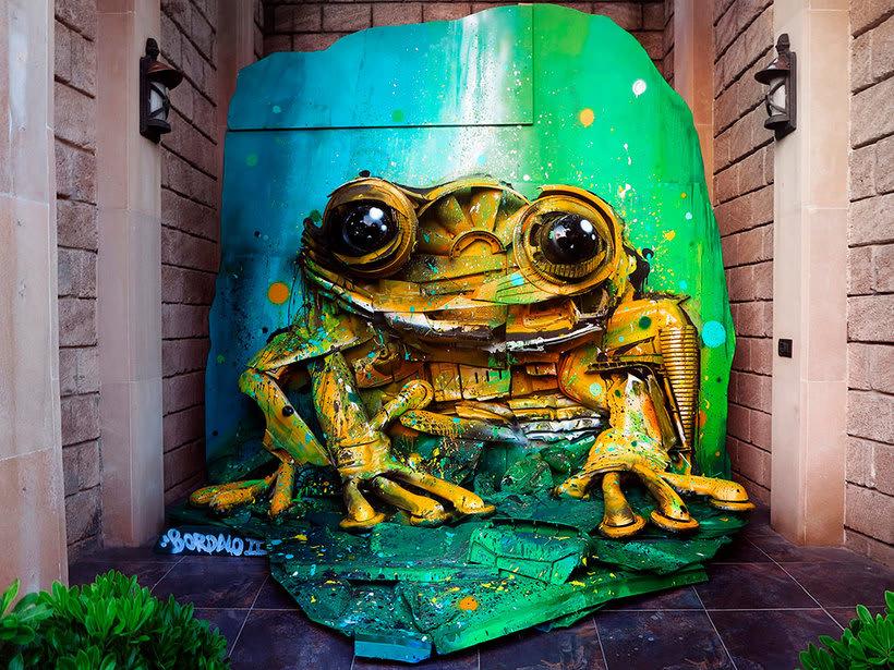 El arte urbano que remueve conciencias de Bordalo II 9