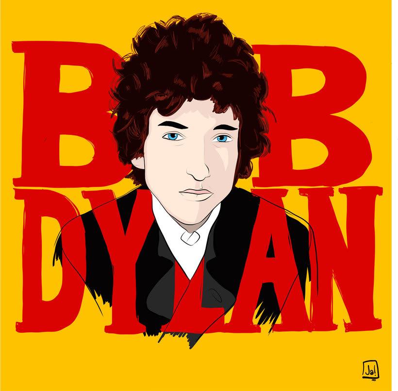 Diseños e ilustraciones que homenajean a Bob Dylan 4
