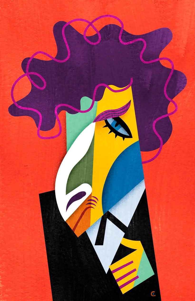 Diseños e ilustraciones que homenajean a Bob Dylan 8