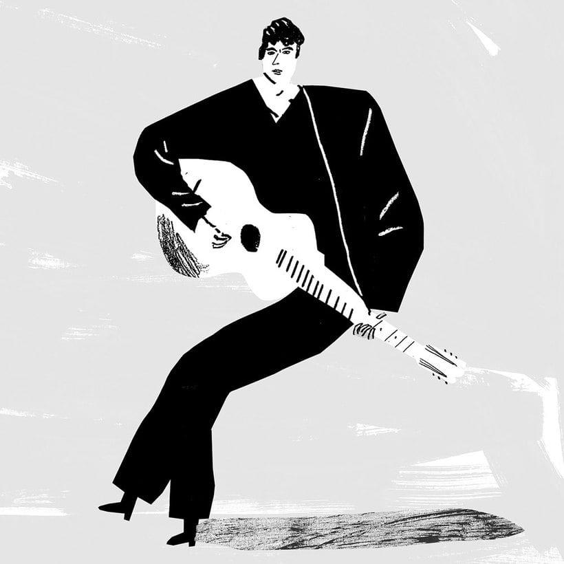 Diseños e ilustraciones que homenajean a Bob Dylan 12