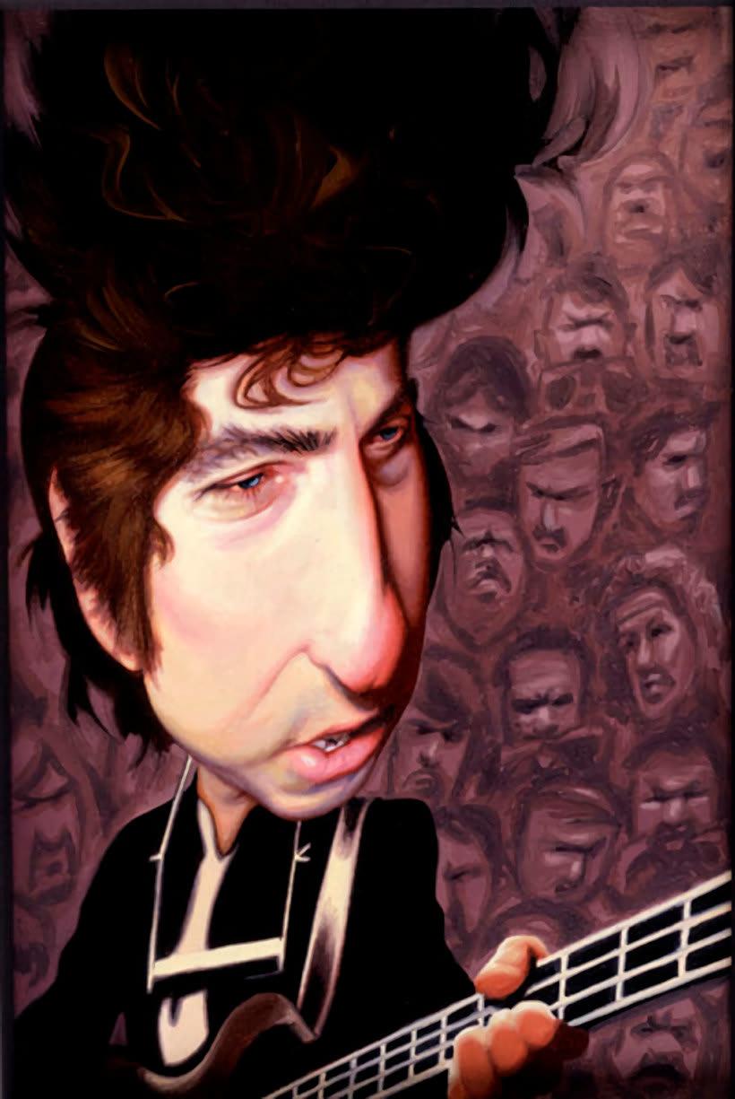 Diseños e ilustraciones que homenajean a Bob Dylan 16