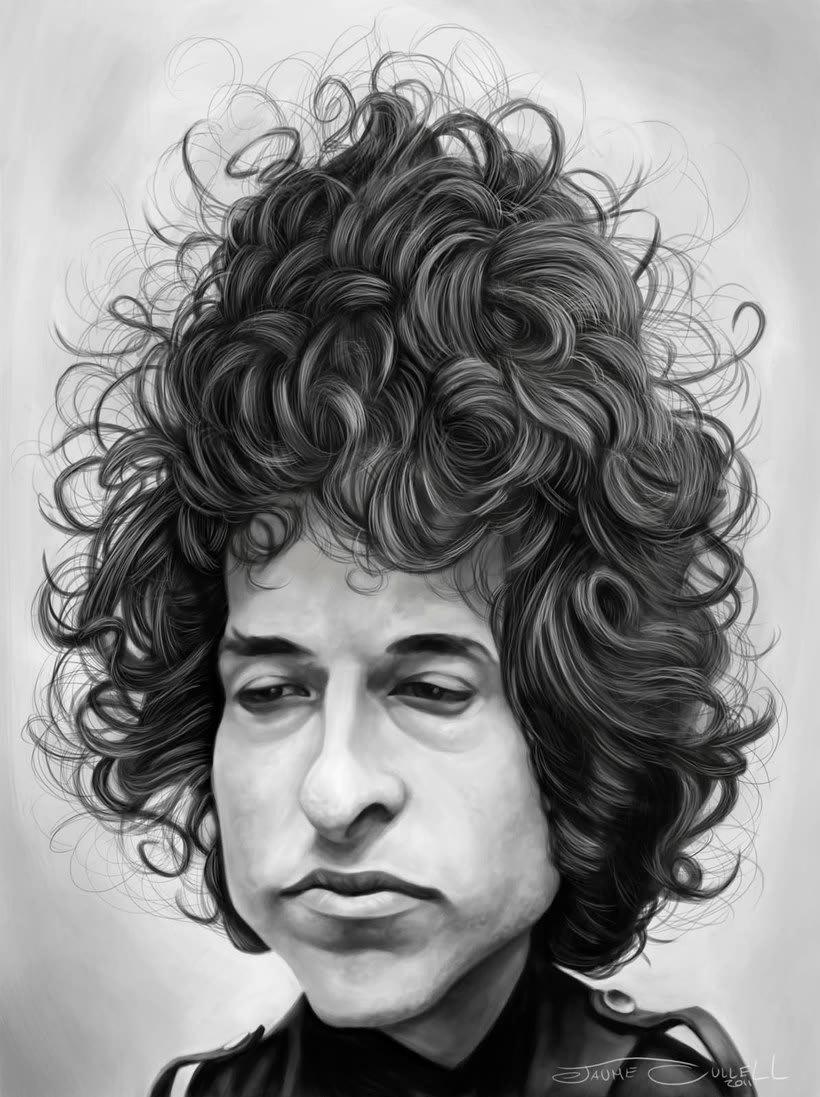 Diseños e ilustraciones que homenajean a Bob Dylan 20