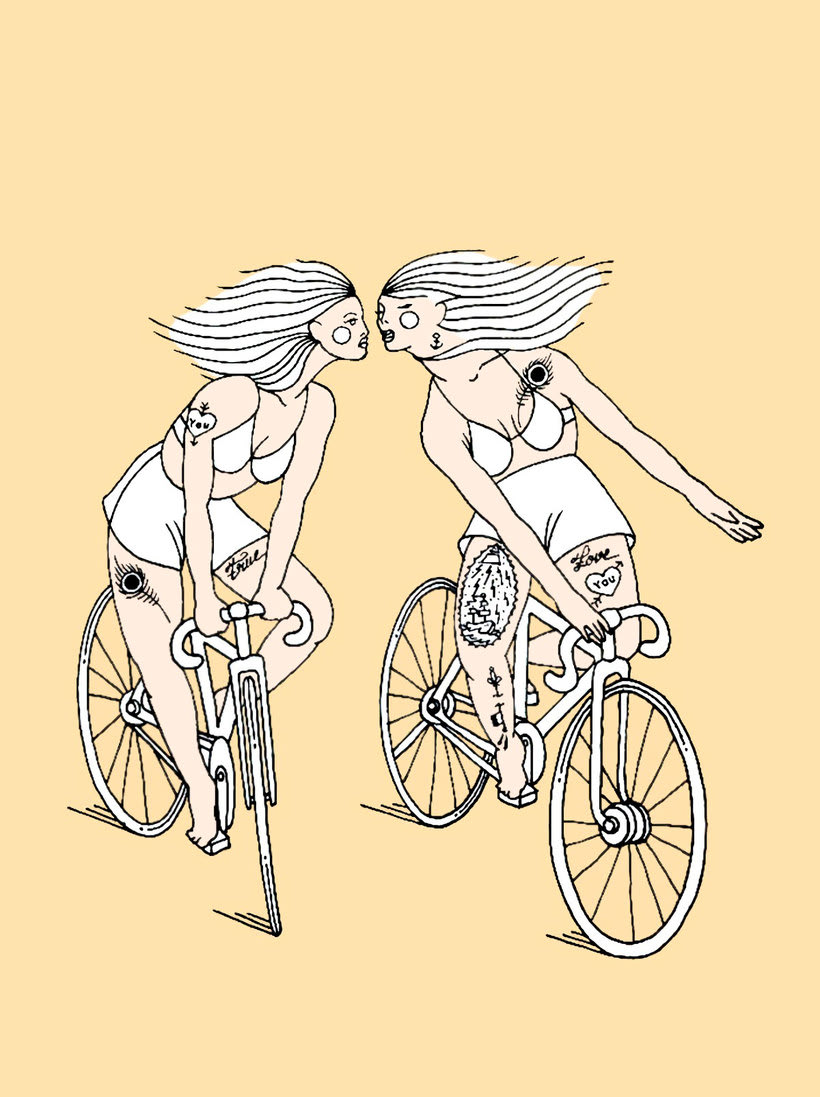Girls on wheels 11