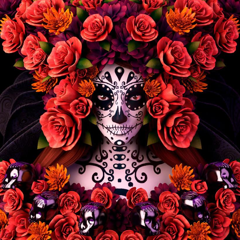 El folclore mexicano en 3D de Fer Aguilera Reyes 8