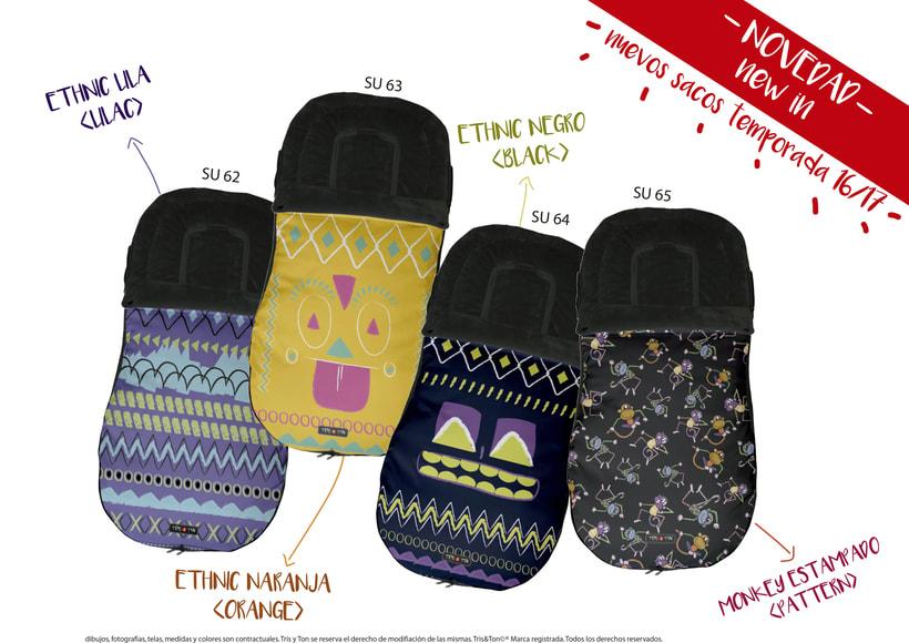 Diseños para los nuevos productos de Tris & Ton 1