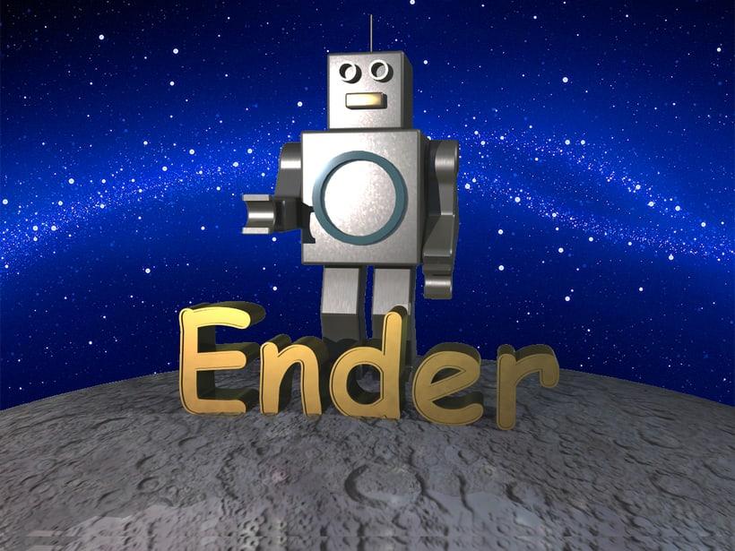 Ender, el principio y fin. -1