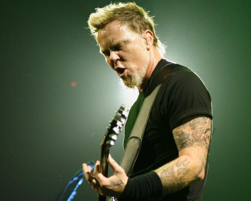 James Hetfield: Retrato ilustrado con Photoshop 2