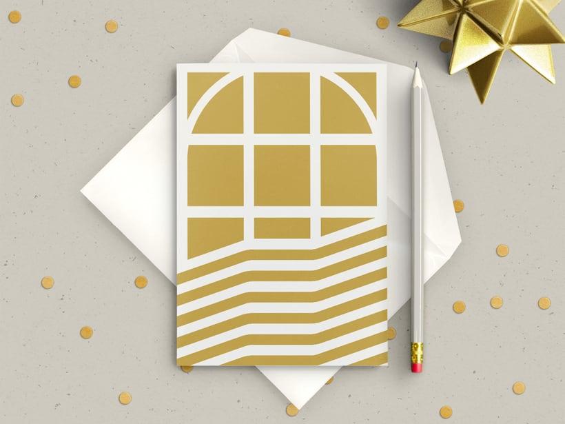 Tarjeta de Navidad, TATE 1