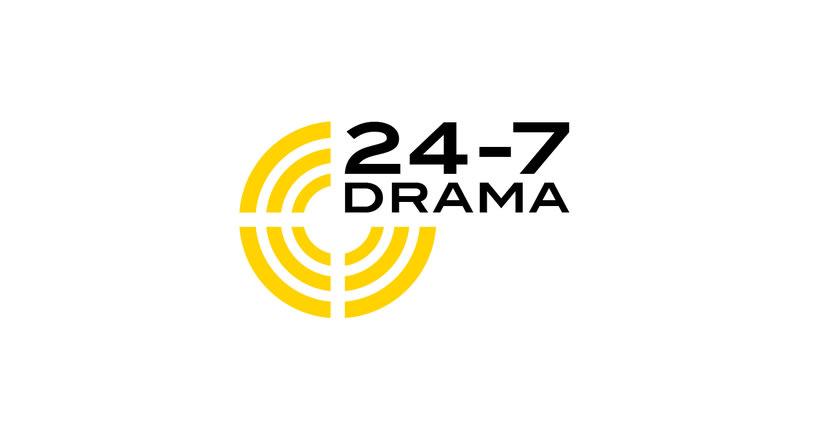 24-7 Drama / Diseño de marca 1
