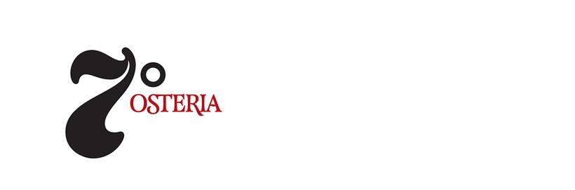 Séptimo Ostería (Naming, branding e interiorismo para restaurante) 1