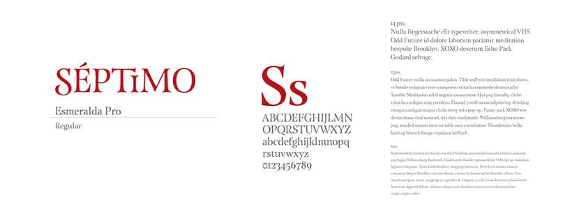 Séptimo Ostería (Naming, branding e interiorismo para restaurante) 3