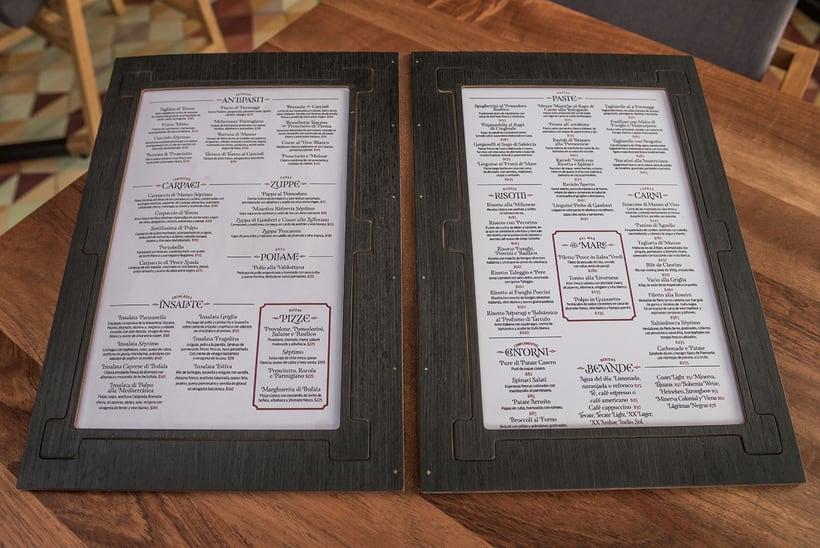 Séptimo Ostería (Naming, branding e interiorismo para restaurante) 15